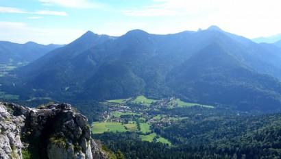 Kreuth wird Bergsteigerdorf