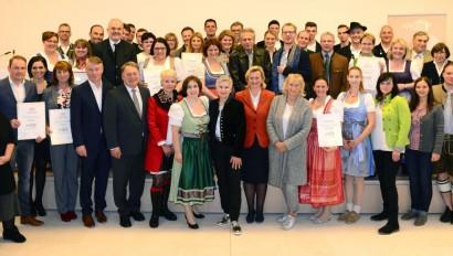 Ausgezeichnete Bayerische Küche und Ausgezeichnete Bierkultur