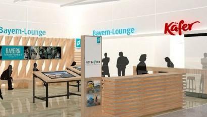 Erlebniswelt: Welcome-Lounge am Flughafen München