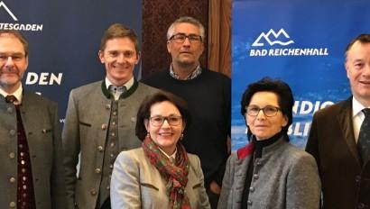 Doppelspitze Berchtesgadener Land Tourismus besetzt