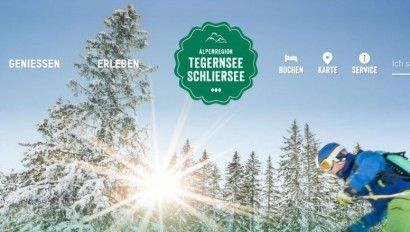 Neuer Webauftritt: Alpenregion Tegernsee Schliersee