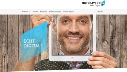 Oberbayern – Echt digital – die Digitaloffensive beginnt …