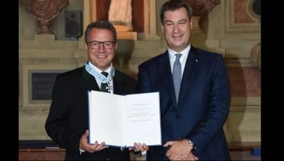 Bayerischer Verdienstorden für unseren Präsident und unsere Vizepräsidentin