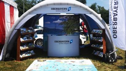 Oberbayern war beim Auftakt der BR-Radltour 2018 mit dabei!