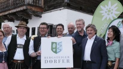 Eröffnung des Bergsteigerdorfs Kreuth am Tegernsee