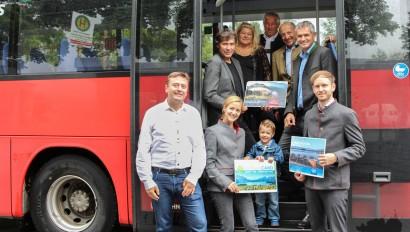 Kostenlos mit Bus & Bahn: Ein Pilotprojekt der Ammergauer Alpen und dem Blauen Land