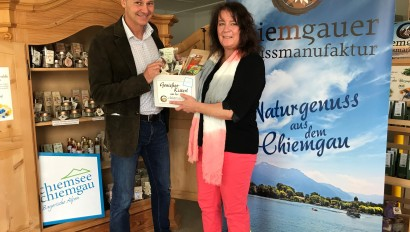 Neue Kooperation zwischen Chiemgauer Genussmanufaktur und Chiemgau Tourismus