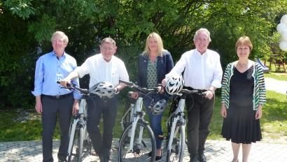 Offizielle Eröffnung der neuen Radregion Inn-Salzach