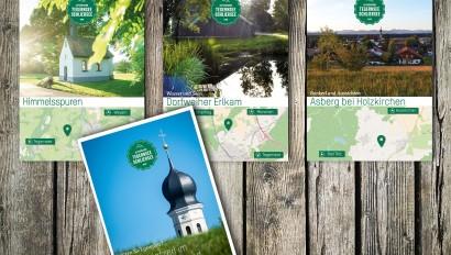 Auch so geht Besucherlenkung: 'Geheimplatzerl im Miesbacher Oberland' erschienen