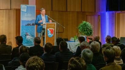 Chiemgau Tourismustag über LEADER Förderungen und Rückblick auf 10 Jahre Vereinsgeschichte