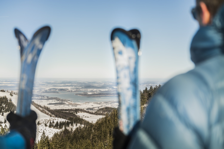 Skifahren in Bayern