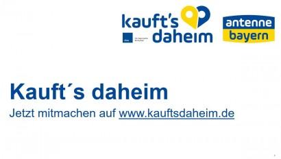 """Initiative """"Kauft's daheim"""" – Jetzt mitmachen!"""