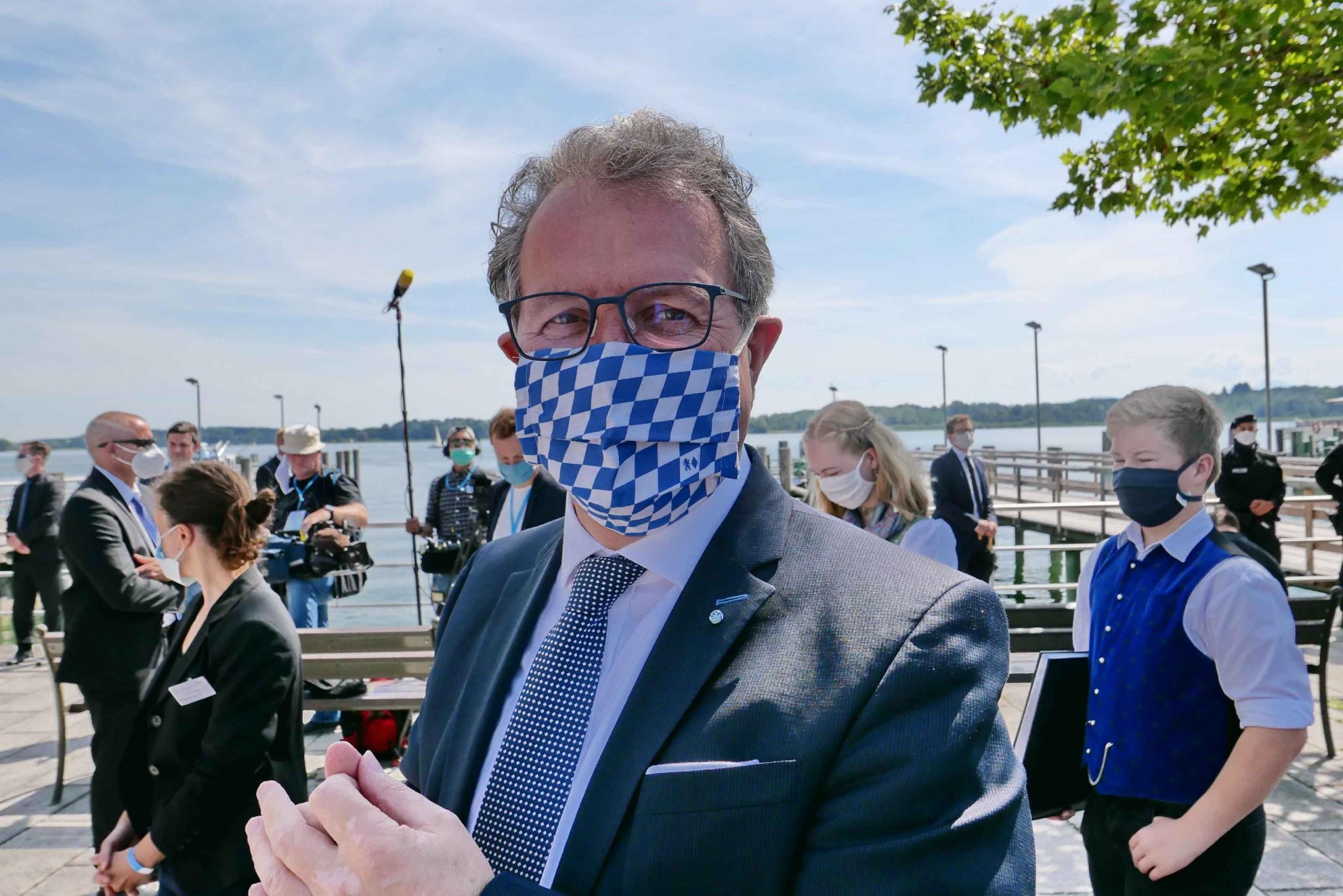 Severin Schweiger - MdL Klaus Stöttner, Präsident des Tourismusverbandes Oberbayern-München