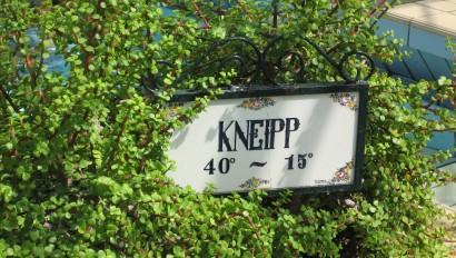 Förderprogramm zu Kneipp-Anlagen