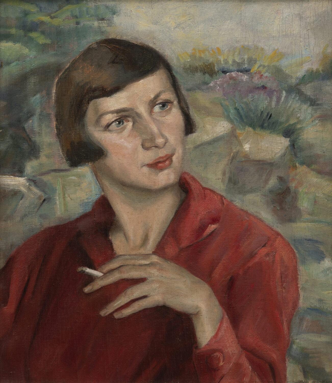 Maria Eberhard, Porträt Maria Gögler, 1920er Jahre (Wolfgang Pulfer)