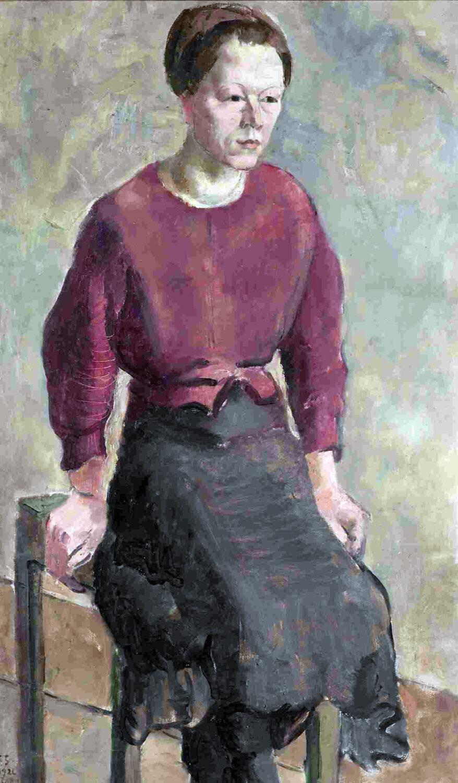 Gretel Haas-Gerber, Akademiemodell, 1926