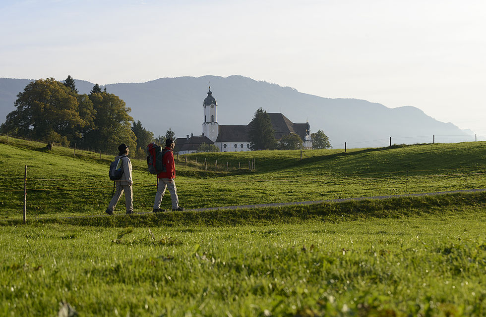 Wandern in Oberbayern Landschaft