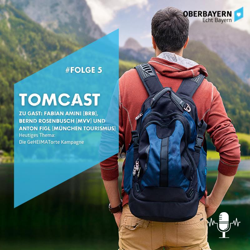 TOMCast #5 I Zu Gast: BRB, MVV und Tourismus München