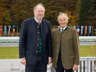 Bürgermeister von Ruhpolding Claus Pichler, Robert Salzl